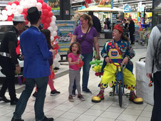 clown anniversaire enfant paris