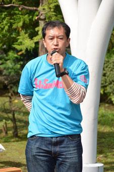 メイフェアにお住まいの平成25年度久本小学校PTA会長、高田さん