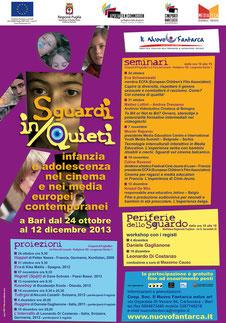2013 - Sguardi in/quieti - locandina