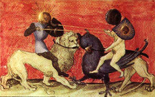 Représentation des noces chymiques - Aurora Consurgens - XVème siècle
