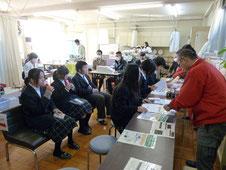 新田暁高校献血活動