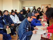学童野球保護者献血協力活動