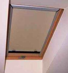 Ролети дахові вікна