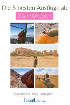 Die besten Ausflüge ab Marrakesch