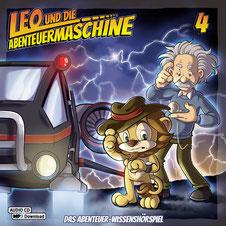 CD Cover Leo und die Abenteuermaschine 4
