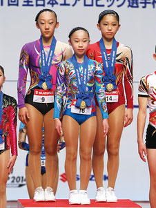 ユース1トリオ優勝の田中・金子・矢羽々