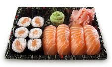 Poisson cru - sushi