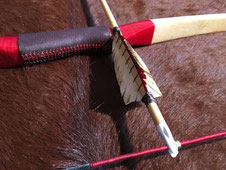 Sehne, Pfeil und Bogen