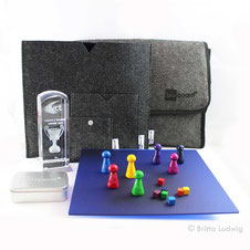 pöppel, blu-board®, Coaching-Tool, Coaching-Spiel, Coachingspiel