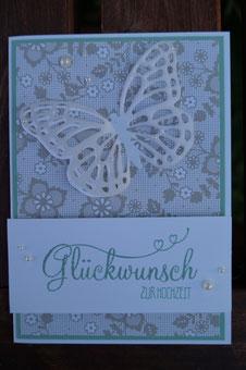 Glückwunschkarte zur Hochzeit - Patricia Stich 2015