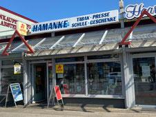 Hamanke Tabakhaus Presse Schule Geschenke  Arsterdamm 144 28279 Bremen