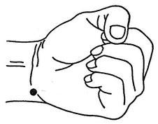 Fig. 1.1 - Shen Men ou Porte de l'esprit