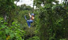 Arenal  Ecoglide Canopy & Tarzan swing