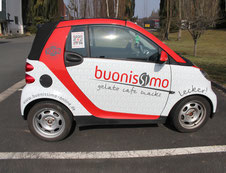 Fahrzeugbeschriftung buonissimo Seite
