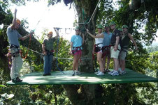 Canopy and Tarzan Swing