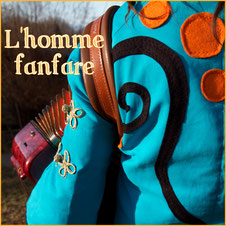 Photo L'homme fanfare