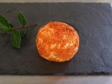 fromages de chèvre palet frais oignon paprika à la fromagerie du Purdeau
