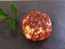 fromages de chèvre palet frais bruschetta à la fromagerie du Purdeau