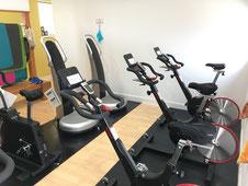 群馬県前橋市ひらい接骨院ではケガのリハビリに股関節・下半身強化・心肺機能強化のバイクトレーニングがおすすめです。