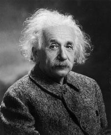 Oren Jack Turner, Portrait d'Einstein, 1947, Princeton. Source : Wikipedia. Domaine public.