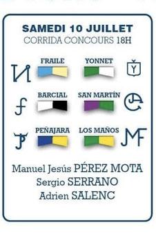 Fraile Yonnet Barcial San Martin Peñajara Los Maños Perez Mota Sergio Serrano Adrien Salenc
