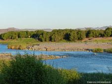 Felix Unite - Blick auf Orange River