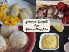 Sommer-Rezepte ohne Salmonellengefahr