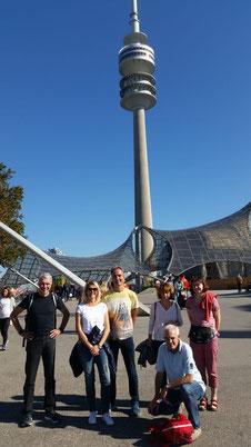 Im Oktober waren wir beim München Marathon. Herrliches Wetter und tolle Stimmung.