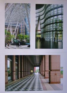 線のアーキテクチャー(赤坂・六本木・恵比寿) (A2組写真)