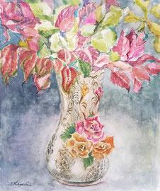 「華の花瓶」(f8、変わった花瓶からインスパイア)
