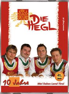 DVD - 10 JAHRE DIE HEGL