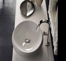 Vasques, Céramiques, A poser, Moulées, Corian, Silestone, Robinetterie, Mitigeurs