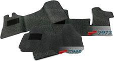 Autoteppich/ Autofussmatte für Opel Movano A und B, Vivaro