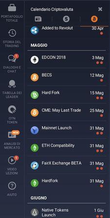 iq option calandario criptovalute in tempo reale bitcoin altcoin