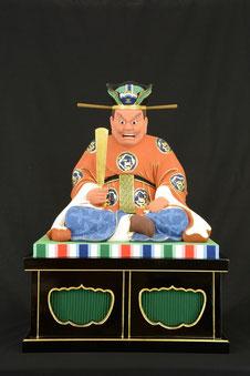 閻魔大王 極彩色 仏高1.3尺