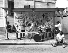 the Funky Soul story - Bassin street Records with Rebirth Brass Band