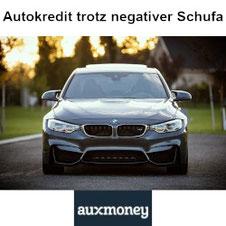 Ein Autokauf ohne Schufa und Bonitätsprüfung ist nicht möglich, aber ein Autokredit trotz negativer Schufa und Bonität kann durch Kredit von Auxmoney realisiert werden.