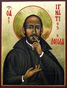 San Ignacio de Loyoya, fundador de la Compañía de Jesús