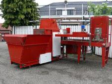 HETO Topf in Trayfüllmaschine (MOSA) Gebraucht