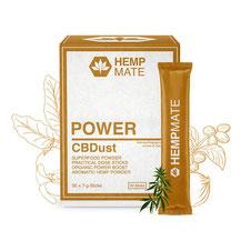 HempMate CBDust POWER für die Anregung und Vitalisierung des gesamten Organismus.