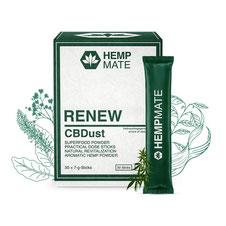 HempMate CBDust RENEW setzt alles auf Null für einen frischen Neustart.
