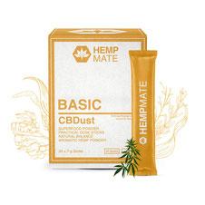 HempMate CBDust BASIC für mehr Balance und eine ganzheitliche Grundversorgung des Körpers mit wertvollen Nähr- und Vitalstoffen.
