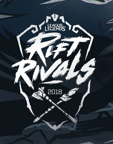 League of Legends LoL Rift Rivals 2018