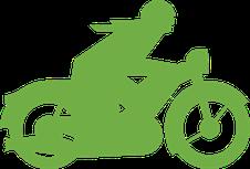 assurance moto comparateur vert homme comparatif comparaison vitesse