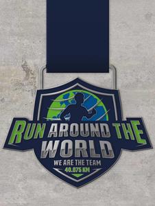 Run around the world / lauf-weiter.de