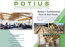 Potius Floor and Roof Panels