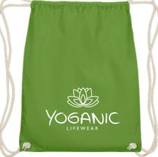 Yoganic Gymbag lime 14,95 EUR