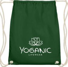 Yoganic Gymbag  green  14,95 EUR