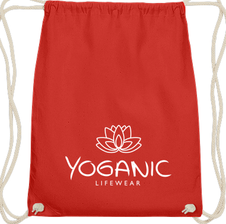 Yoganic Gymbag red 14,95 EUR
