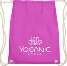 Yoganic Gymbag pink 14,95 EUR